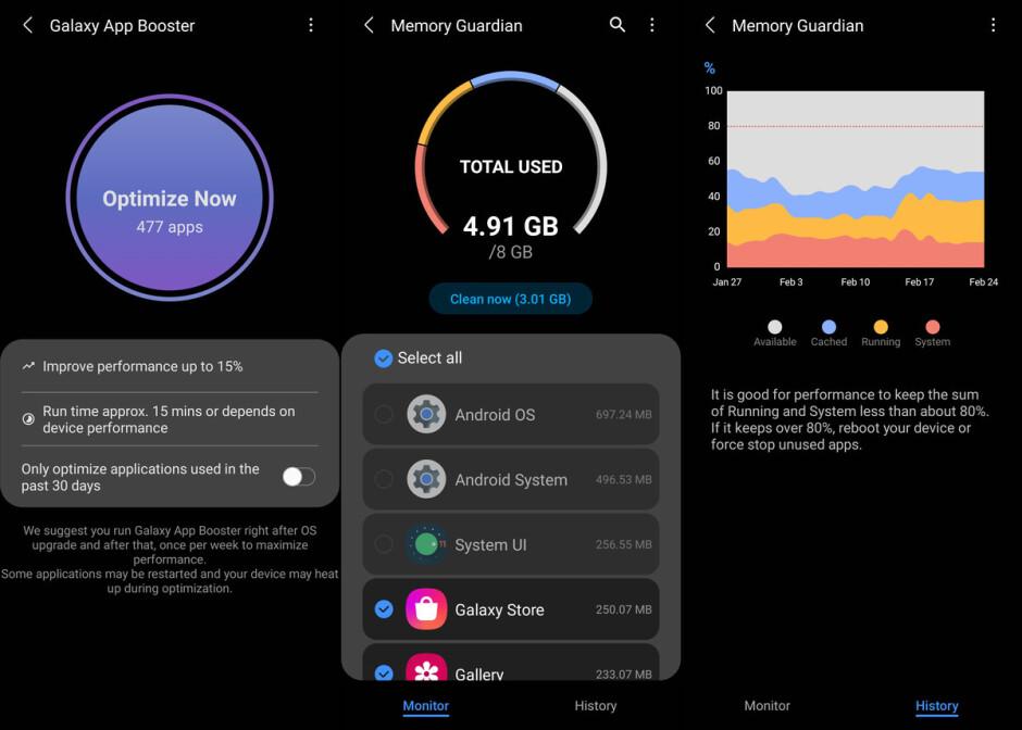Samsung app lets you tweak CPU throttling settings on Galaxy phones
