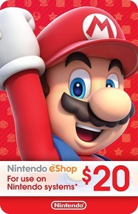 Eshop Nintendo Card