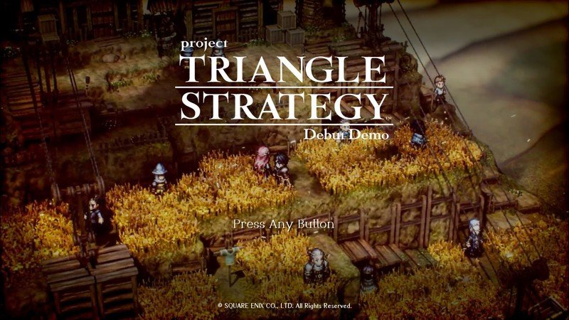 Project Triangle Strategy Demo Opening