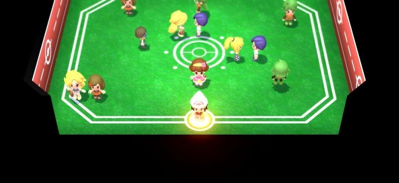 Pokemon Brilliant Diamond Shining Pearl Battle Room