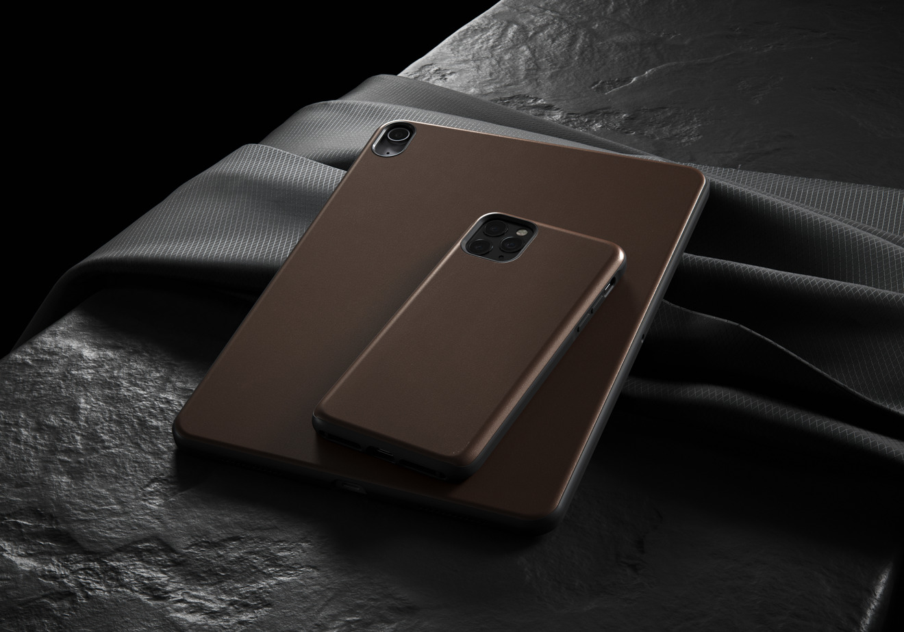 Nomad Rugged Case in Rustic Brown