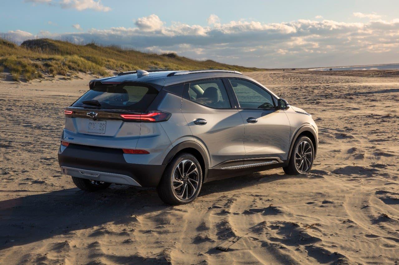 2022 Chevrolet Bolt EUV - front view