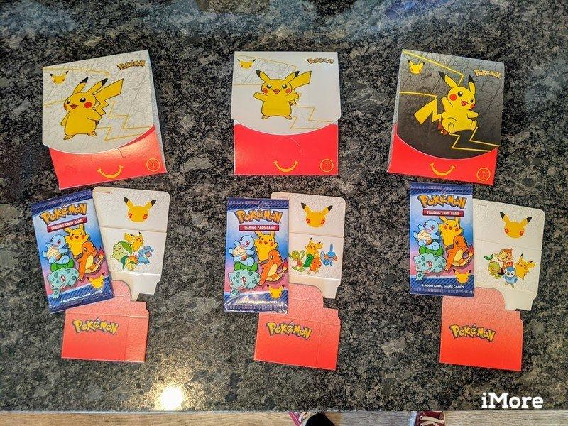 Mcdonalds Pokemon Cards Packaging