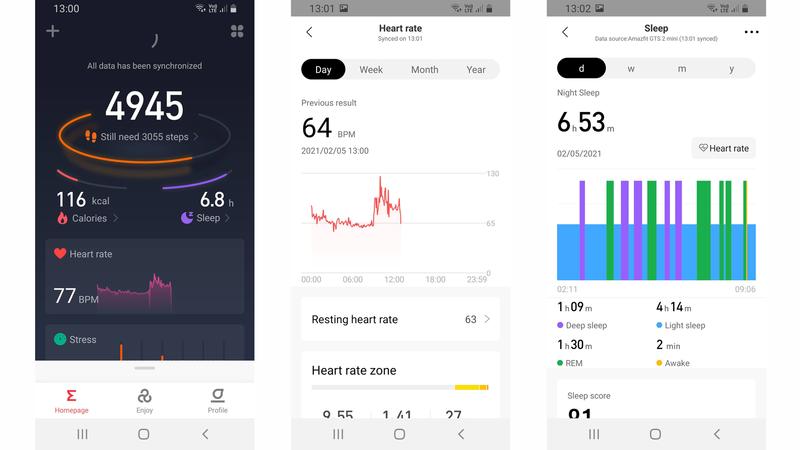Amazfit GTS 2 Mini review: Zepp app