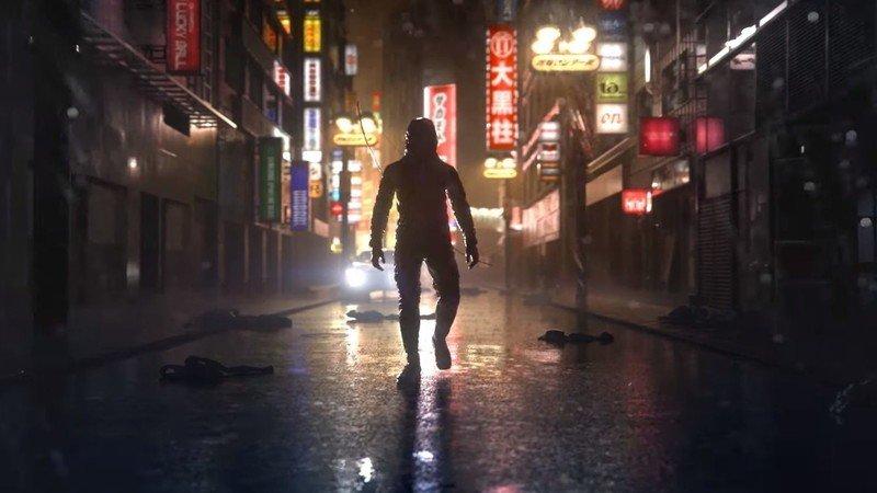 Ghostwire: Tokyo man street