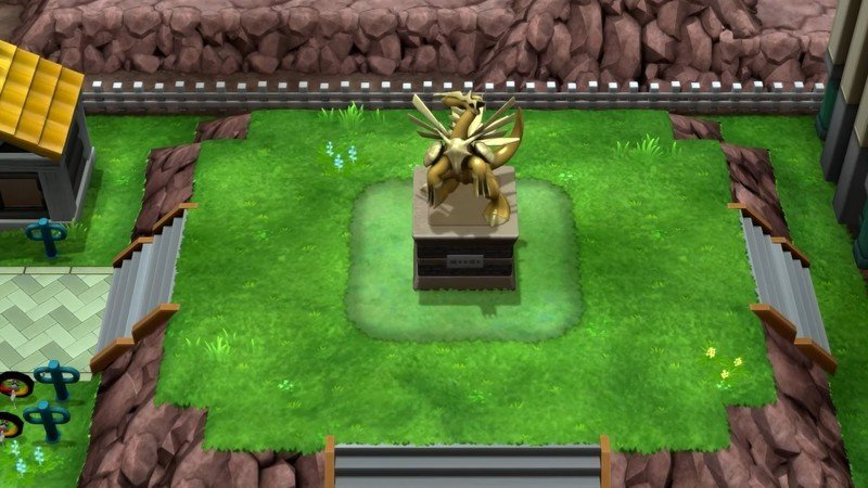 Pokemon Brilliant Diamond Shining Pearl Dialga Statue