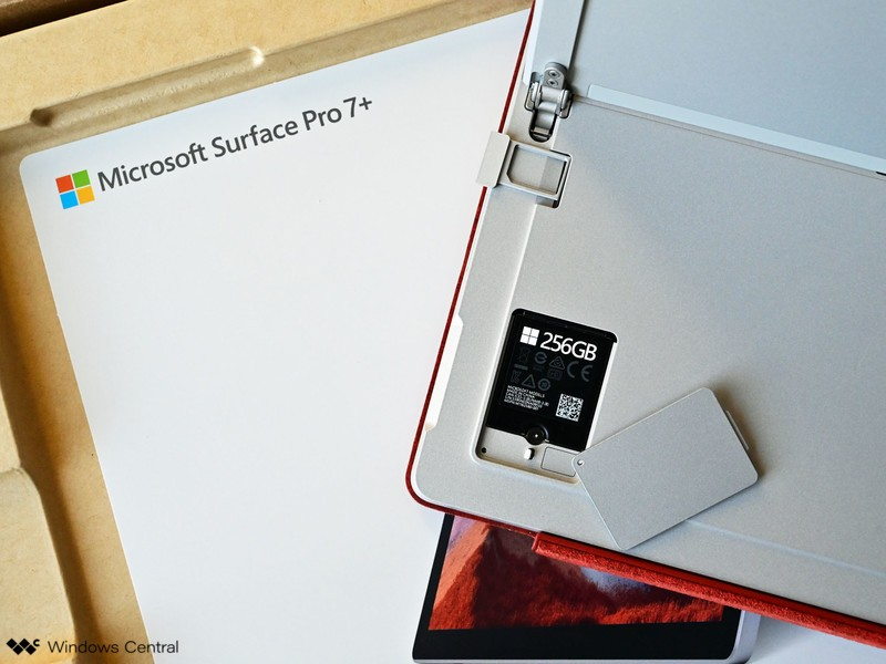 Surface Pro 7unbox