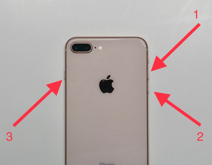How to fix a frozen iPhone 8 in 10 seconds.