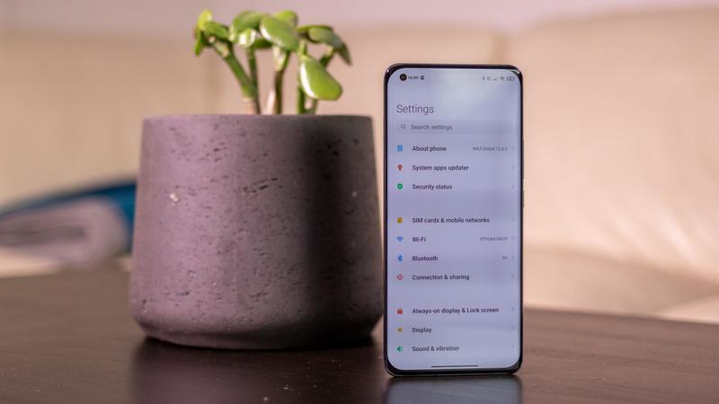 Xiaomi Mi 11 settings