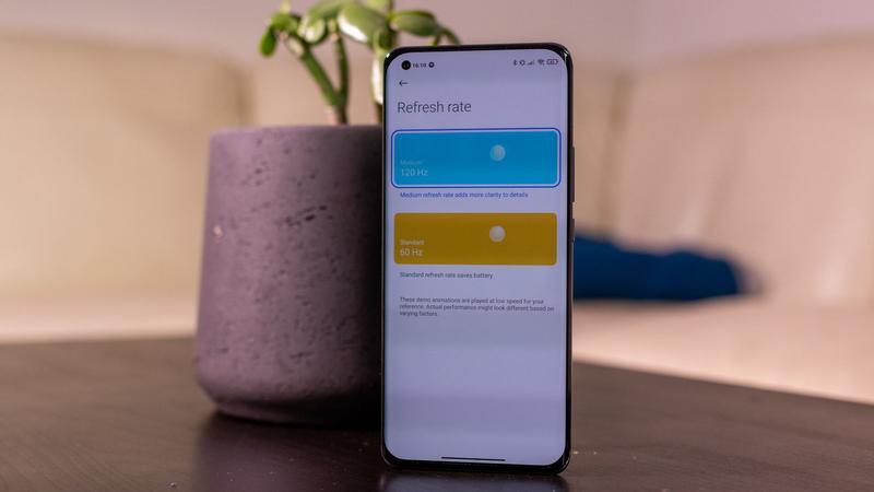 Xiaomi Mi 11 refresh rate