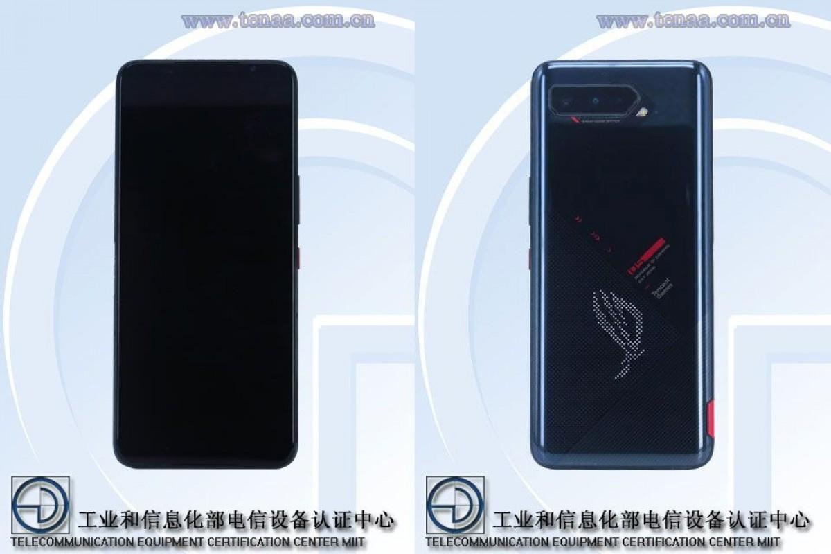 ROG Phone 5 on TENAA