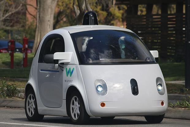 File photo: A self-driving car on the road in Mountain View