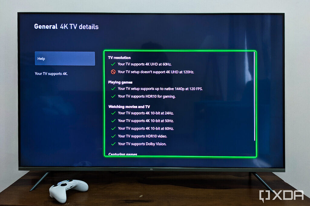 Xiaomi Mi QLED TV 4K 55 inch Xbox gaming 4k 60fps