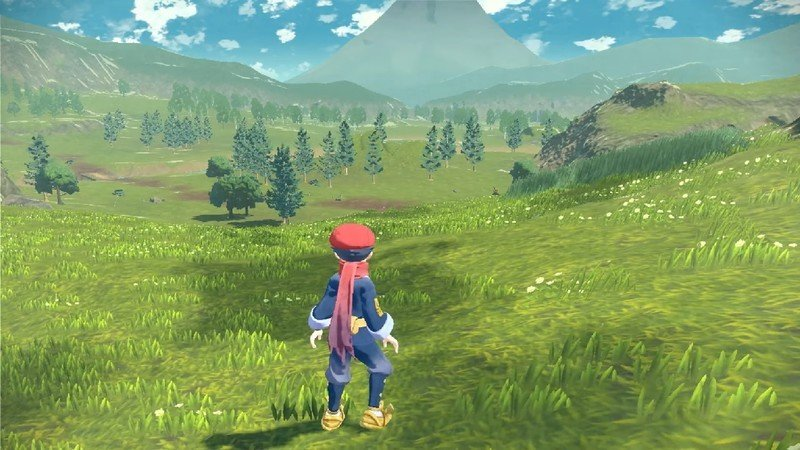 Pokemon Legends Open World