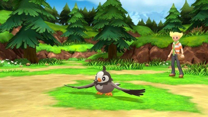Pokemon Brilliant Diamond Shining Pearl Rival Battle