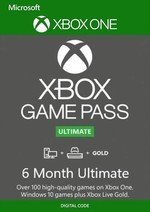Xbox Game Pass Ultimate 6 Month