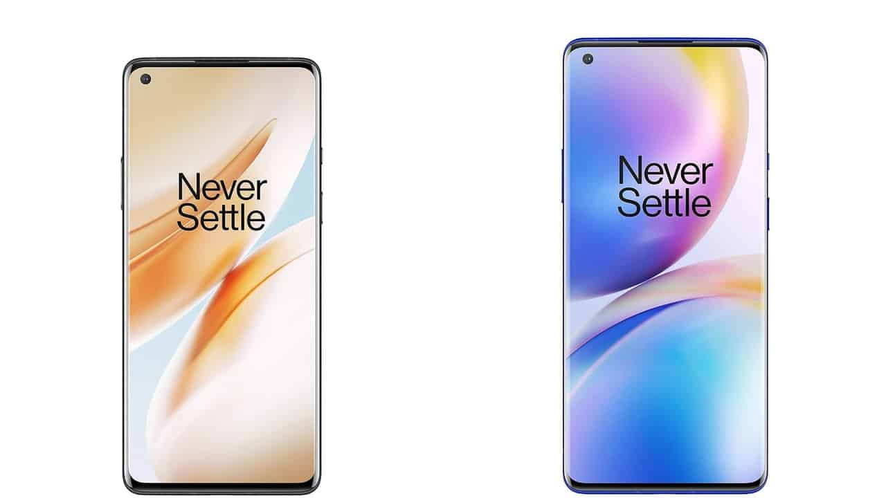 OnePlus 8 and 8 Pro render