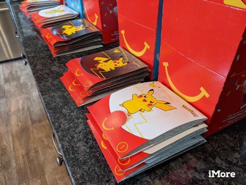 Mcdonalds Happy Meal Boxes Pikachu Packs