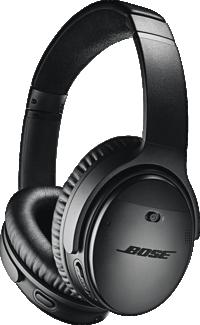 Black Bose QuietComfort 35 II