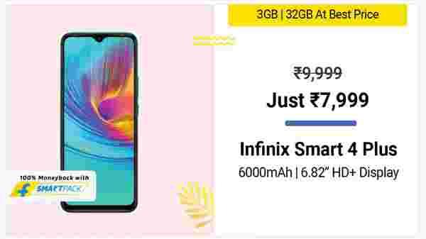 20% Off On Infinix Smart 4 Plus