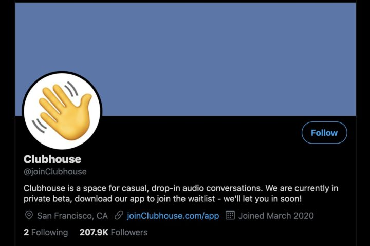 How to Get Clubhouse Invite - twitter screenshot