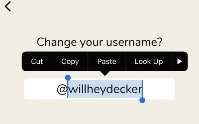 How to Change Your Name on Clubhouse - Text