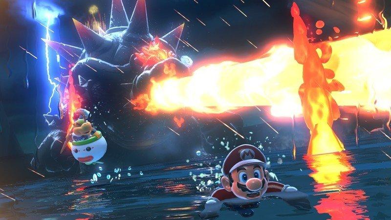 Mario And Bowser Jr Bowsers Fury Hero