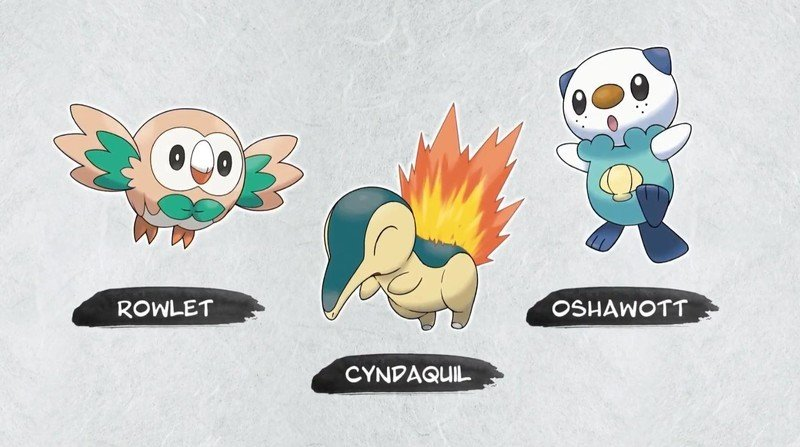 Pokemon Legends Starter