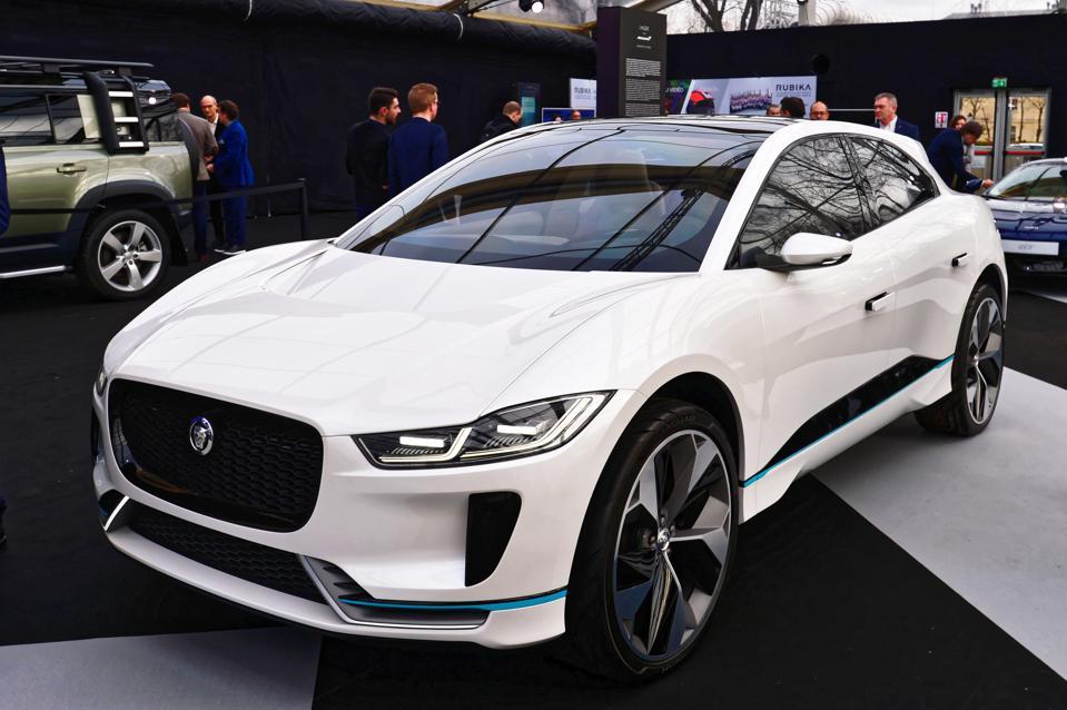 Jaguar Exhibition At The Festival Automobile International In Paris