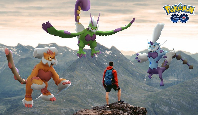 Pokemon Go Forces Of Nature