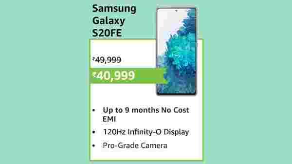 38% Off On Samsung Galaxy S20 FE