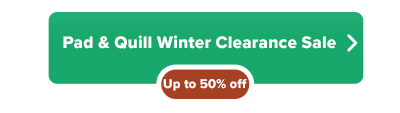 Pad and Quill Apple accessory clearance sale