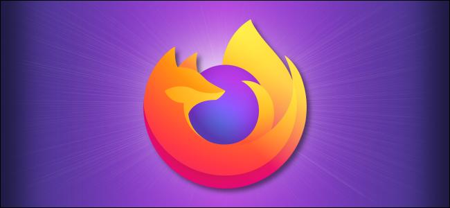 Firefox logo on a purple background