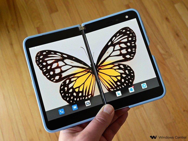 Surface Duo Flutter Google