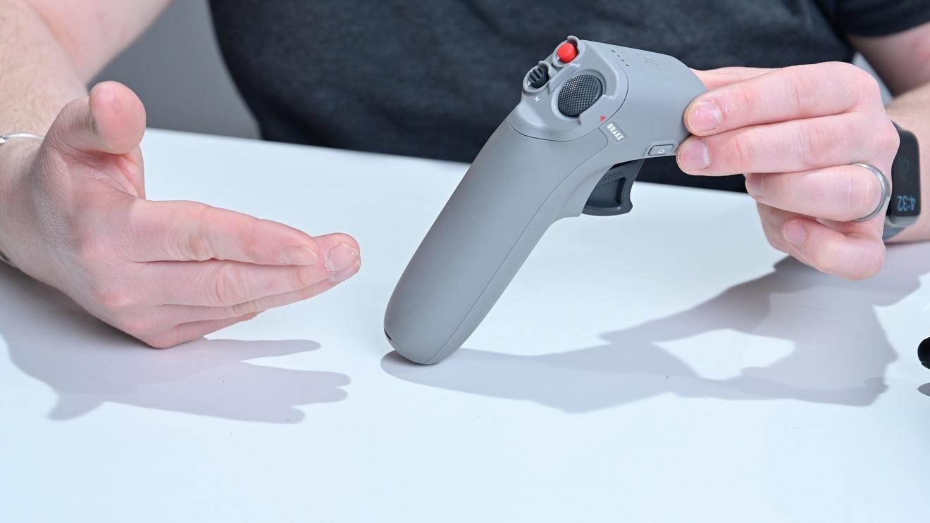 DJI FPV drone motion controller