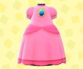 Acnh Mario Update Peach Dress