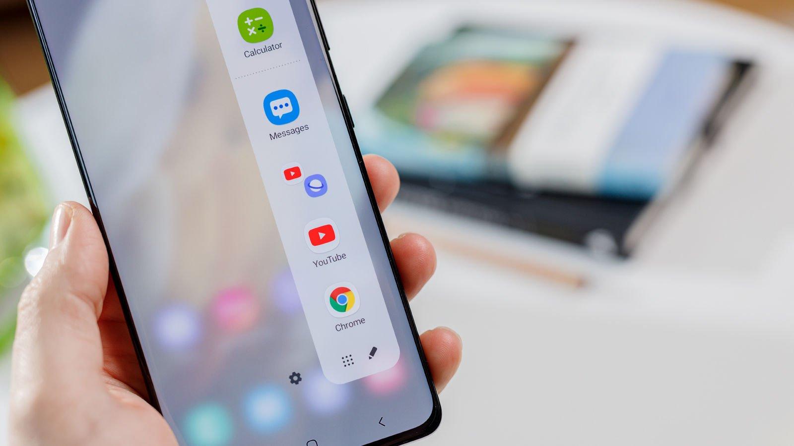Samsung Galaxy S21 Ultra Edge Screen
