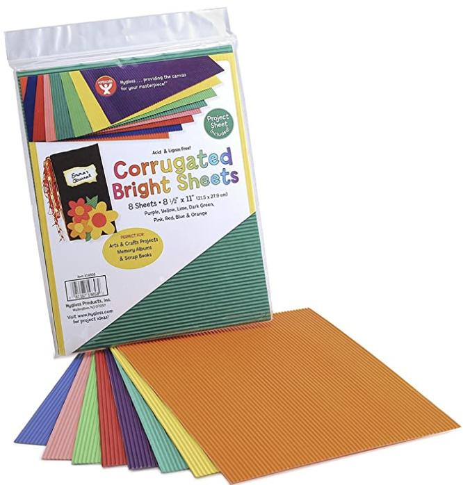Hygloss Products Corrugated Cardboard