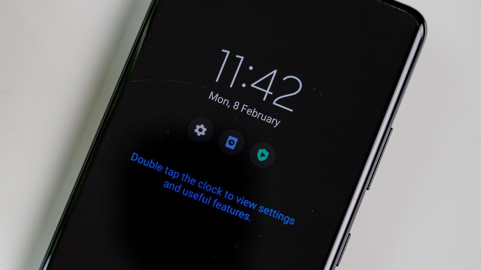 Samsung Galaxy S21 Ultra AOD