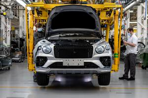 The Bentayga has proved immensely popular for Bentley