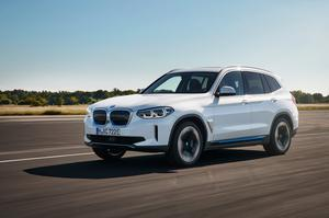 The iX3 is BMW's second electric vehicle