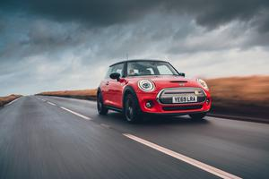 The Mini Electric retains the regular car's retro styling