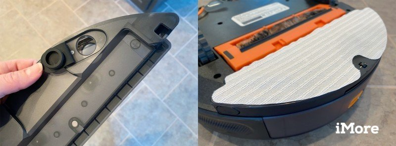 Kyvol Cybovac S31 Robot Vacuum Review Mopping Parts