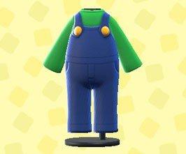 Acnh Mario Update Luigi Outfit