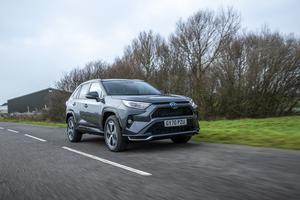 The RAV4 PHEV has a decent amount of performance on offer