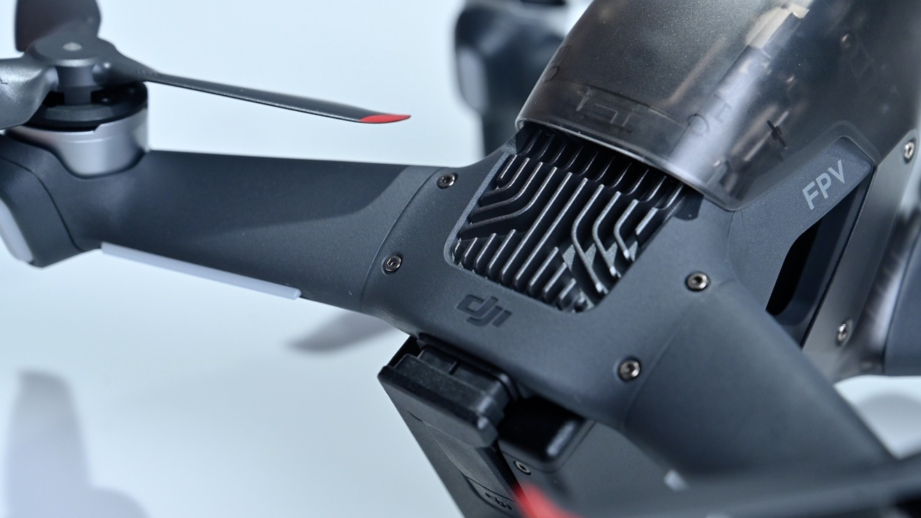 DJI FPV drone has a modular design