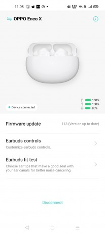 HeyMelody app on Realme X7 Pro