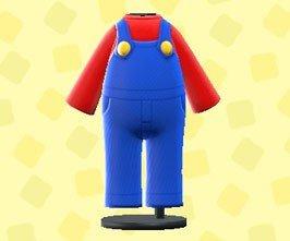 Acnh Mario Update Mario Outfit
