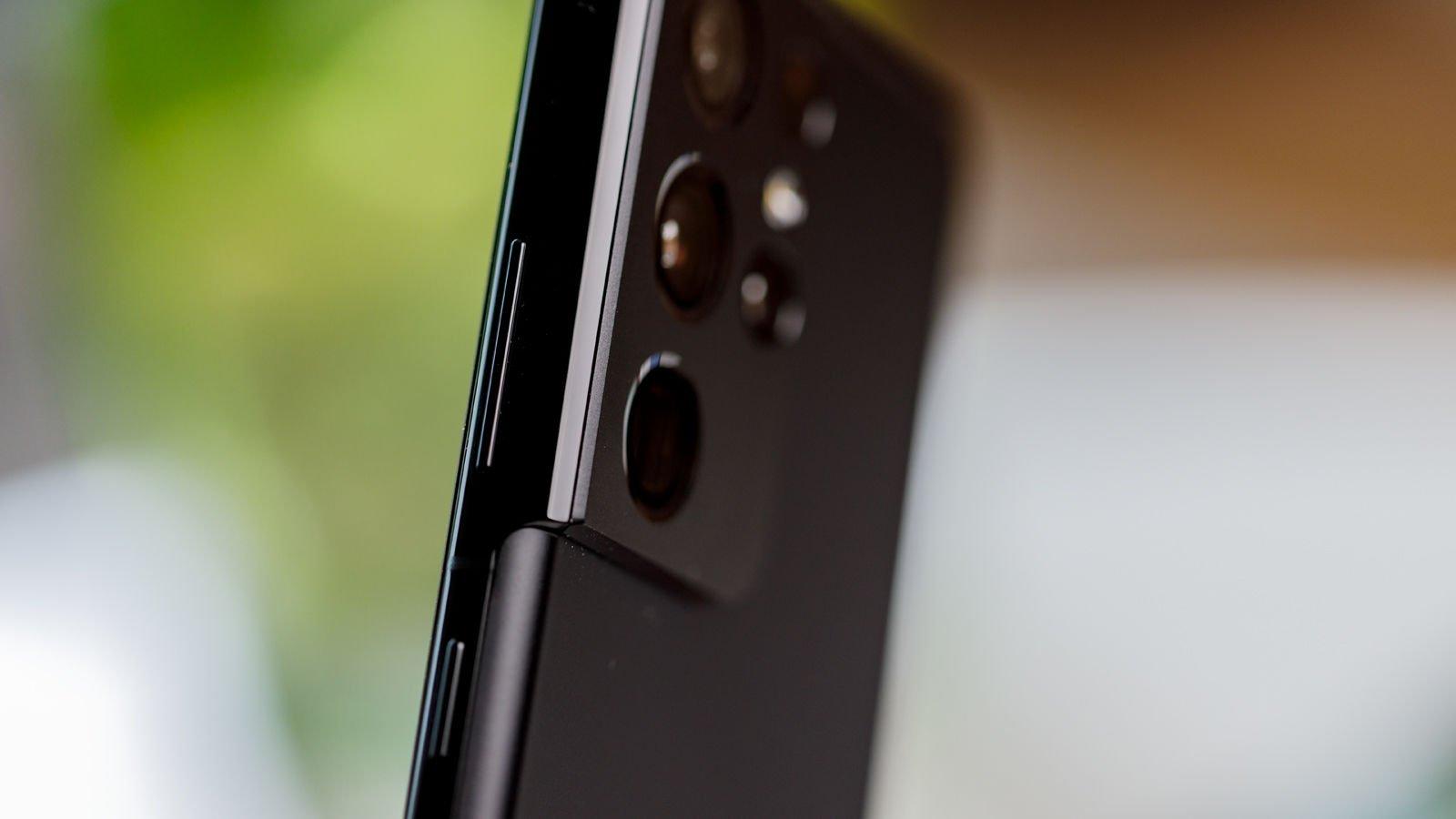 Samsung Galaxy S21 Ultra camera module profile