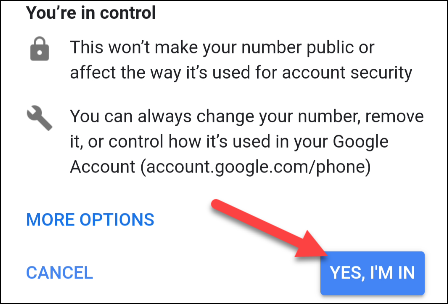 add number to google